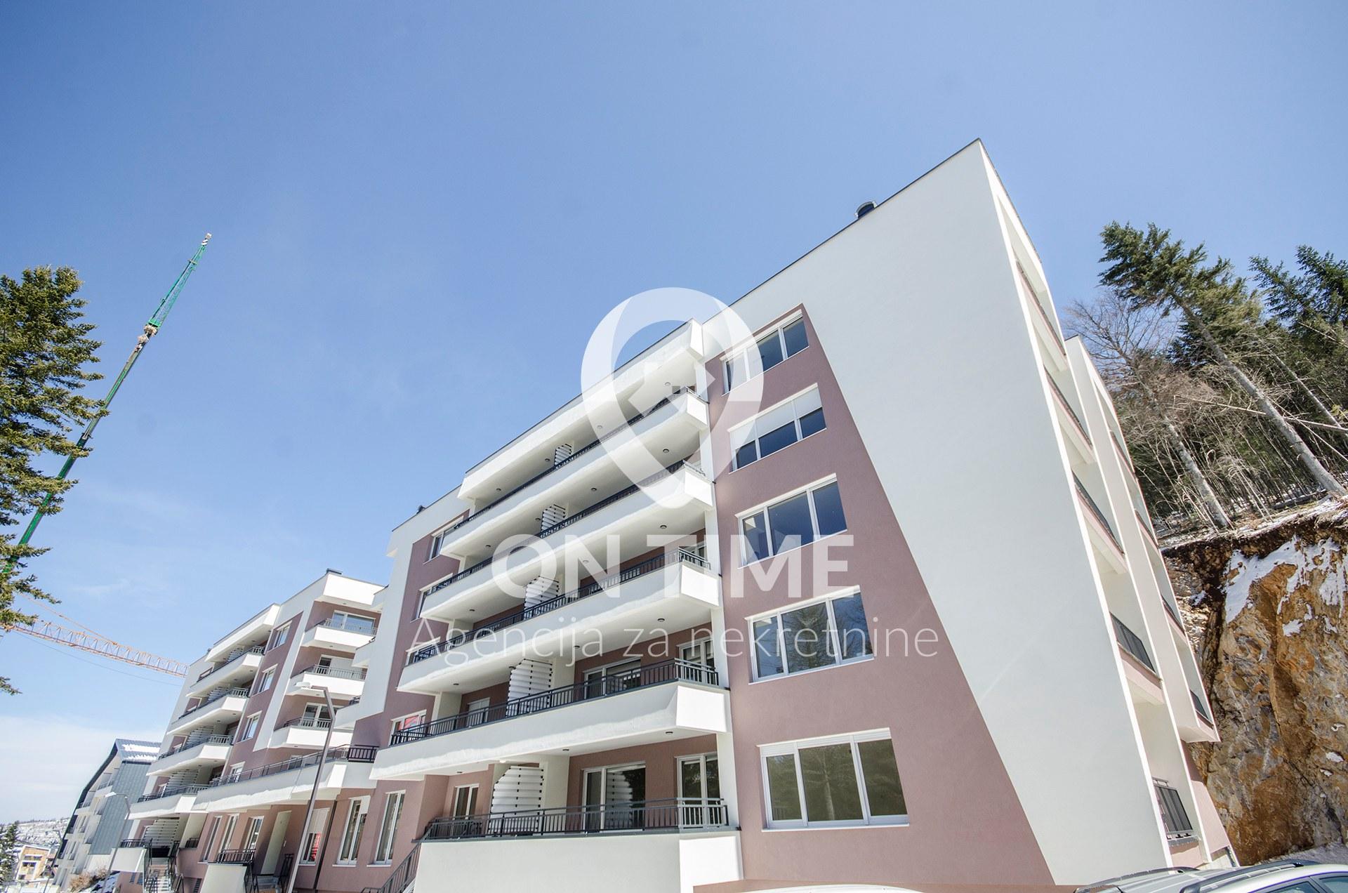 Apartman u novogradnji, Bjelašnica, 68 m2